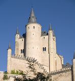 Castillo FO Segovia Fotografía de archivo libre de regalías