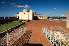 Castillo, fortaleza, baia, bacoli, Italia Foto de archivo