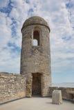Castillo forte, St Augustine, Florida Fotografia Stock