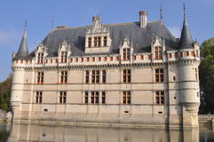Castillo francés Fotografía de archivo
