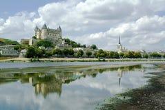 Castillo francés Fotos de archivo libres de regalías