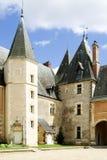 Castillo francés Imágenes de archivo libres de regalías