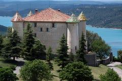 Castillo francés Aiguines Fotos de archivo libres de regalías