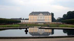Castillo francés Augusterberg de Alemania   Fotos de archivo libres de regalías