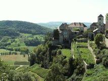 Castillo francés-chalon Foto de archivo