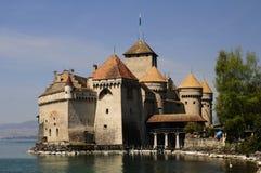 Castillo francés Chillon Imágenes de archivo libres de regalías