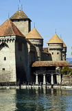 Castillo francés Chillon Fotografía de archivo libre de regalías