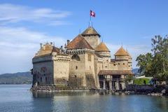 Castillo francés Chillon - Suiza Fotos de archivo libres de regalías
