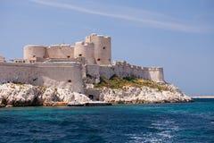 Castillo francés D'If, Marsella Foto de archivo