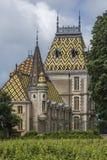 Castillo francés de Aloxe-Corton - Francia Fotografía de archivo libre de regalías