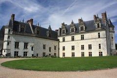 Castillo francés de Amboise Imagen de archivo libre de regalías