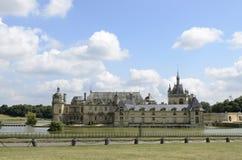 Castillo francés de Chantilly Fotografía de archivo