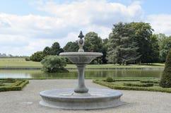 Castillo francés de Chantilly Imagen de archivo libre de regalías