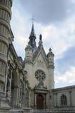 Castillo francés de Chantilly Imágenes de archivo libres de regalías
