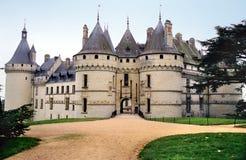 Castillo francés de Chaumont imágenes de archivo libres de regalías