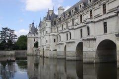 Castillo francés de Chenonceau Imágenes de archivo libres de regalías