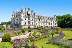 Castillo francés de Chenonceau, el valle del Loira, Francia imágenes de archivo libres de regalías