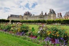 Castillo francés de Fontainebleau Foto de archivo libre de regalías