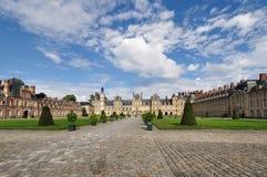 Castillo francés de Fontainebleau Imagen de archivo libre de regalías