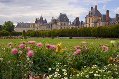 Castillo francés de Fontainebleau fotos de archivo libres de regalías