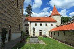Castillo francés de Horsovsky Tyn Imagen de archivo