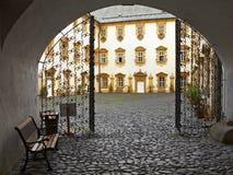 Castillo francés de Lemberk Imagen de archivo