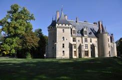 Castillo francés de Meillant Fotos de archivo libres de regalías