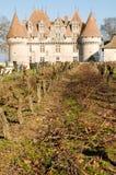 Castillo francés de Monbazillac Foto de archivo libre de regalías