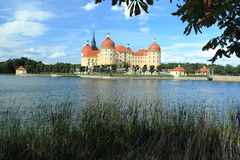 Castillo francés de Moritzburg Fotos de archivo