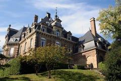 Castillo francés de Namur en Bélgica imagenes de archivo