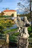 Castillo francés de Podebrady Imágenes de archivo libres de regalías