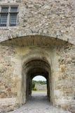 Castillo francés de Santo-Sauveur-le-Vicomte, Normandía, Francia, Imagenes de archivo