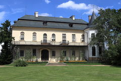 Castillo francés de Slatinany Fotografía de archivo libre de regalías