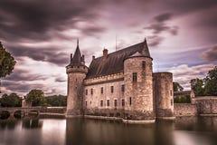 Castillo francés de Sully Sur Loire foto de archivo libre de regalías