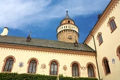 Castillo francés de Sychrov Foto de archivo