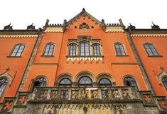 Castillo francés de Sychrov Imagen de archivo libre de regalías