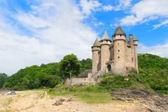 Castillo francés de val Imagen de archivo