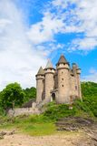 Castillo francés de val Fotografía de archivo
