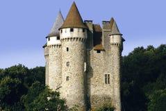 Castillo francés de val Foto de archivo libre de regalías