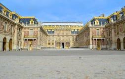 Castillo francés de Versalles – Francia Fotos de archivo