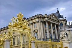 Castillo francés de Versalles Foto de archivo libre de regalías