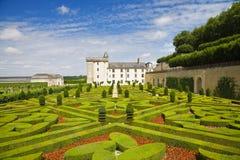 Castillo francés de Villandry, Francia Fotografía de archivo