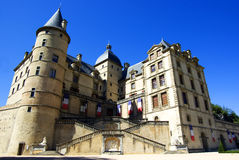 Castillo francés de vizille Imagenes de archivo