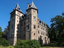 Castillo francés del estilo del renacimiento en Goluchow, Polonia Imagen de archivo libre de regalías