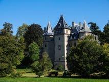 Castillo francés del estilo del renacimiento en Goluchow, Polonia Fotografía de archivo