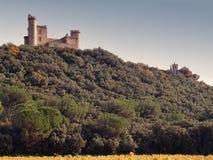 Castillo francés du más jonquier, Gard, Imagenes de archivo