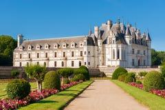Castillo francés el valle del Loira, Francia de Chenonceau imagenes de archivo