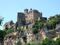 Castillo francés en el Dordogne Imágenes de archivo libres de regalías