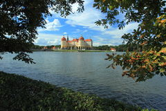 Castillo francés en Moritzburg Imagenes de archivo