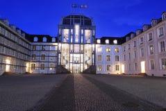 Castillo francés en Sarrebruck Foto de archivo libre de regalías